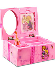 cheap -Music Box Musical Jewellery Box Holiday Retro Creative Unique Plastic Shell Women's All Girls' Kid's Adults Child's Adults' 1 pcs Graduation Gifts Toy Gift