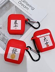 Недорогие -счастливый совместимый чехол для airpods мягкая тпу защитная кожа для apple airpods 2&1 красная зарядка