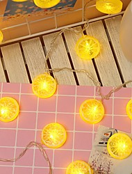 cheap -3m String Lights 20 LEDs 1 set Warm White Decorative AA Batteries Powered