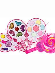 Недорогие -Притворись набором для макияжа Притворись Макияж Play Салон красоты Play Set Девочки Мультяшная тематика Подарок Детские