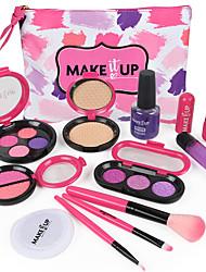 cheap -Pretend Makeup Set Pretend Makeup Play Beauty Salon Play Set Girls' Cartoon Gift Children's