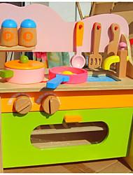 Недорогие -Игрушка кухонные наборы Ролевые игры деревянный Детские Мальчики Девочки Игрушки Подарок 1 pcs