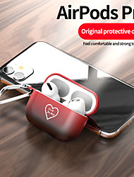 cheap -Case For AirPods Pro Colorful gradient color love pattern fine frosted PC material Bluetooth headset protective shell