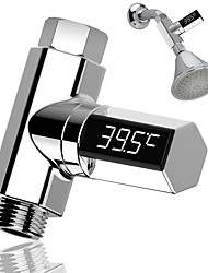 cheap -Led Display Water Shower Thermometer LED Display Home Water Shower Thermometer Flow Water Temperture Monitor