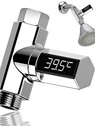 Недорогие -светодиодный дисплей воды термометр для душа светодиодный дисплей дома термометр для воды поток монитор температуры воды