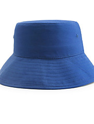 cheap -Unisex Basic Beret Hat-Solid Colored Blue