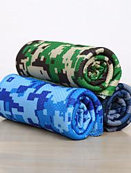 Недорогие -Полотенце для йоги Без запаха Экологичные Не скользит Микроволокно для Йога 90*30 cm Небесно-голубой Светло-Зеленый Зеленый