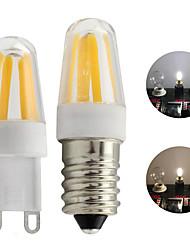 Недорогие -Светодиодный диммер g9 e14 лампа накаливания мини-лампа 4 светодиода удара прожектор 220 В 240 В 360 градусов белый теплый белый 1 шт.