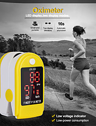 cheap -Medical Household Digital Fingertip Pulse Oximeter Blood Oxygen Saturation Meter Finger Monitor Health Care