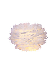 cheap -Nordic Wall Lamp Contracted Contemporary Sitting Room Setting Wall Originality Children Room Bedside Lamp Feather Wall Lamp