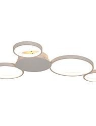 cheap -feimiao 4-Light 60 cm Cluster Design / Circle Design Flush Mount Lights Aluminum Silica gel Painted Finishes LED / Modern 110-120V / 220-240V