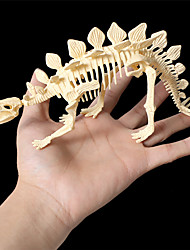 cheap -3D Puzzle Dinosaur Fossil Dinosaur Figure Dinosaur Animals Adorable Parent-Child Interaction Plastic Child's All Toy Gift