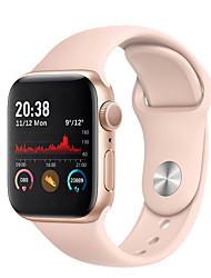 Недорогие -H66 умные часы женщины мужчины фитнес-трекер браслет монитор сердечного ритма SmartWatch серии 5 полный сенсорный водонепроницаемый