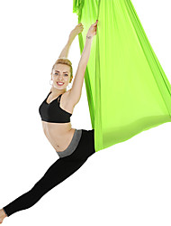 cheap -Flying Swing Aerial Yoga Hammock Silk Fabric Extension Straps Sports Chinlon Inversion Pilates Antigravity Yoga Trapeze Sensory Swing Ultra Strong Antigravity Durable Anti-tear Decompression