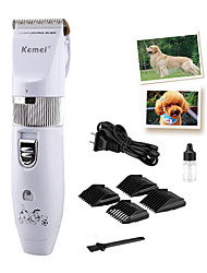 cheap -Grooming Hair Clipper Tool Kit Pet Hair Remover Grooming Clippers Cordless Plastic Clipper & Trimmer Portable Electric Pet Grooming Supplies