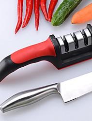 cheap -1ps Knife Sharpener Professional Kitchen Sharpening Stone Whetstone Tungsten Steel Diamond Ceramic Kitchen Accessories Fast Precision Scissors Kitchen Supplies