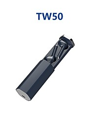 cheap -LITBest TW50 TWS True Wireless Earbuds Wireless Bluetooth 5.0 Stereo with Microphone HIFI with Charging Box Auto Pairing for Sport Fitness