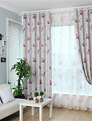 cheap -Gyrohome 1PC Butterflies Shading High Blackout Curtain Drape Window Home Balcony Dec Children Door *Customizable* Living Room Bedroom Dining Room