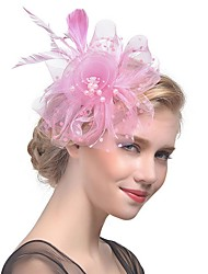 cheap -Feathers Fascinators with Feather 1 Piece Tea Party / Horse Race Headpiece
