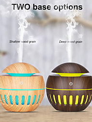 cheap -USB Aroma Humidifier ESSential Oil Diffuser Ultrasonic Cool Mist Humidifier Air Purifier 7 Color Change LED Night light