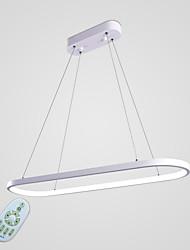 cheap -1-Light 20 cm Bulb Included Pendant Light Metal Silica gel Linear Painted Finishes Chic & Modern 110-120V / 220-240V