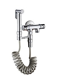 cheap -G1/2 Bidet Toilet Sprayer with Bracket Holder Shattaf Cloth Diaper Washer Bathroom Cleaning Stainless Steel Shower Head Hose for Personal Hygiene,Pet Bath,Cloth Diaper,Mop Pool,Washing Mac