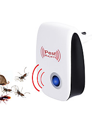 cheap -1PC Ultrasonic Plug in Pest Repeller for Flea, Insects, Mosquitoes, Mice, Spiders, Ants, Rats, Roaches, Bugs, Non-Toxic, Humans & Pets Safe