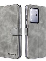 Недорогие -samsung s20plus свежий чистый цвет флип кожаный чехол для мобильного телефона case note10pro сменный тип кошелька против падения защитная оболочка s9 / s8plus