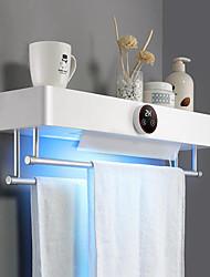 cheap -LED Drying Electric Towel Rack Toilet Bathroom Sterilization Household LED Sanitizer Ultraviolet Light UV Disinfection Touch Smart Switch 1 set Intelligent Smart Light