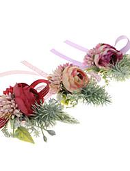 Недорогие -Свадебные цветы Букетик на запястье Свадьба / Особые случаи Ткань 0-10 cm