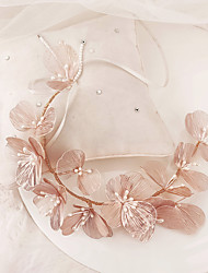 cheap -Women's Headbands For Wedding Anniversary Gift Formal Pearl Blushing Pink 1pc