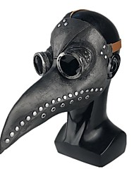 cheap -Plague Doctor Mask Men's Cotton One-Size Light Brown Brown Black 1pc / pack Adults Sports & Outdoor