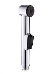 cheap -Chrome ABS Sprayer Handheld Toilet Bidet Shattaf Spray Bathroom Toilet Bidet Shower Head Nozzle Showerhead