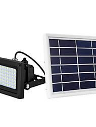 Недорогие -солнечный 54 светодиодный датчик света прожектор сад открытый безопасности водонепроницаемый прожектор / газон огни / светодиодный уличный свет водонепроницаемый