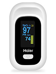 cheap -Haier Pulse Oximeter Fingertip Pulse Oximeter Fingertip Oximeter CSV Finger Clip Pulse Oximeter Home Portable Heart Rate Monitor Oximeter YK-80C Batteries not Included