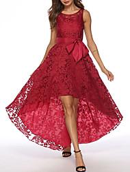 cheap -Women's Sheath Dress - Solid Color Black Royal Blue Red S M L XL