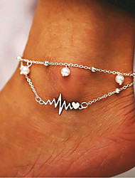 cheap -Body Chain Stylish Simple Women's Body Jewelry For Festival Alloy Silver