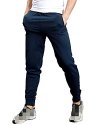 cheap -Men's Jogger Pants Joggers Running Pants Track Pants Sports Pants Athletic Athleisure Wear Bottoms Sport Running Fitness Jogging Breathable Quick Dry Soft Royal Blue Solid Colored / High Elasticity