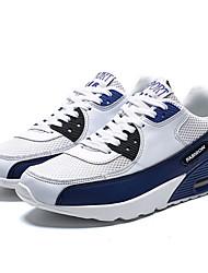 Недорогие -Муж. Сетка Весна Спортивные Спортивная обувь Белый / синий / Белый и фиолетовый / Черный