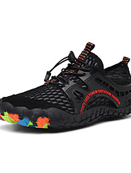 cheap -Men's / Unisex Mesh Fall / Spring & Summer Sporty / Casual Athletic Shoes Water Shoes / Upstream Shoes Breathable Color Block Green / Blue / Brown