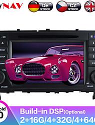 Недорогие -Zwnav 8inch 2din DSP 4 ГБ 64 г Android 9 Автомобильный DVD-плеер GPS-навигатор Авто Автомобильный мультимедийный плеер Автомобильный MP5-плеер магнитола для BenZ C-класса W203 2004-2007