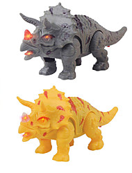 cheap -1:10 Toy Car Apatosaurus Horror Glow Creative Plastic & Metal Plastic Shell Mini Car Vehicles Toys for Party Favor or Kids Birthday Gift 1 pcs