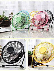 cheap -Mini USB Table Desk Fan USB-Powered Desktop Fan Portable Cooling Fan 360 Degree Rotation Small Fan