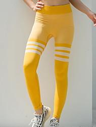 Недорогие -Спортивная одежда Нижняя часть / Йога Жен. Учебный Чинлон Узоры / принт Брюки