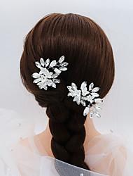 Недорогие -Декоративные Мода Стразы Аксессуары для волос с Стразы 1 шт. Свадьба / Особые случаи Заставка
