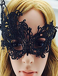cheap -Masquerade / Party / Cocktail Party Accessories Mask Hollow-out / Solid Polyester Holiday / Fashion