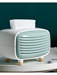 cheap -Kitchen Cleaning Supplies creative tissues storage box radio shape cute