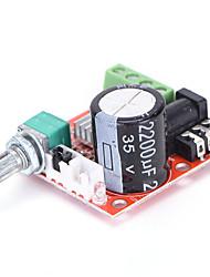 cheap -12V Mini Hi-Fi PAM8610 Audio Stereo Amplifier Board 2X10W Dual Channel D