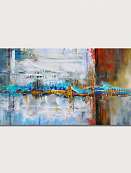 cheap -Hand Painted Rolled Canvas Oil Painting  Abstract Modern Home Decoration  Painting Only