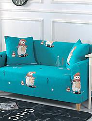 Недорогие -ситцевые чехлы из полиэстера с принтом бархат одноместное сиденье Love место три стрейч спандекс вязание универсальный чехол для дивана чехол для дивана